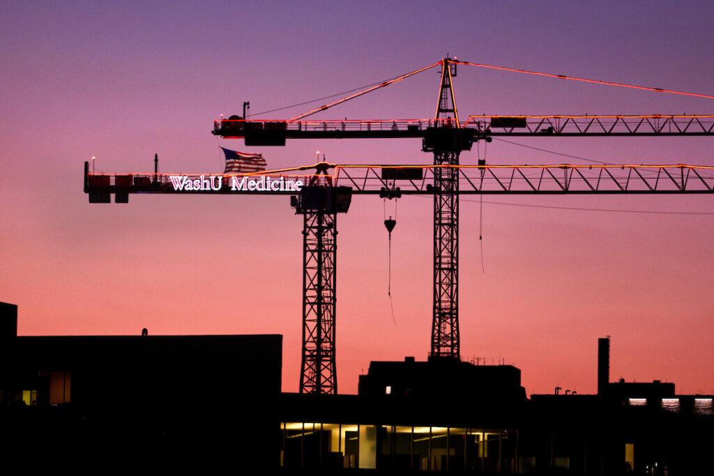 Construction progresses on neuroscience research building